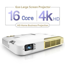 LED Portable Projector 2000LM Mini HDMI Projector Business Home Media Player 4K HD Intelligent Multimedia Projector Home Cinema(China (Mainland))