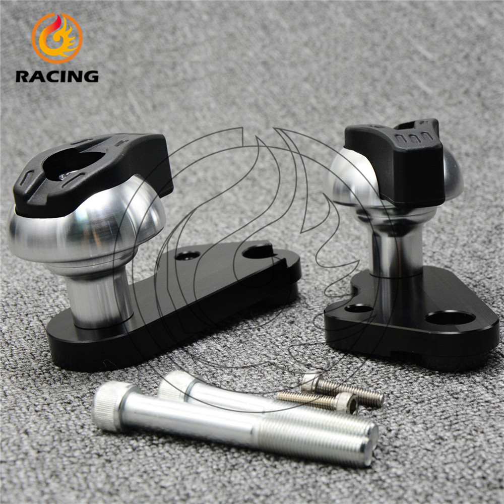 new listing Motorcycle Frame Sliders Crash Falling Protection aluminum frame sliders fit for yamaha 2009 2010 2011 R1 09-11