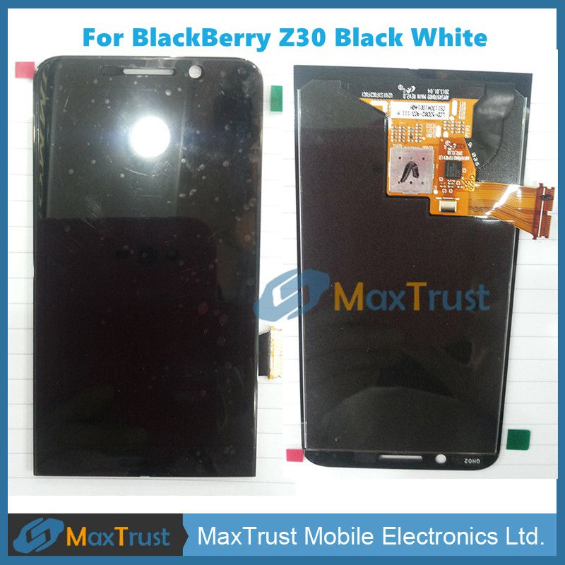 For BlackBerry Z30 Black Color LCD Display And Touch Sreen Digitizer Assemble Free Shipping()