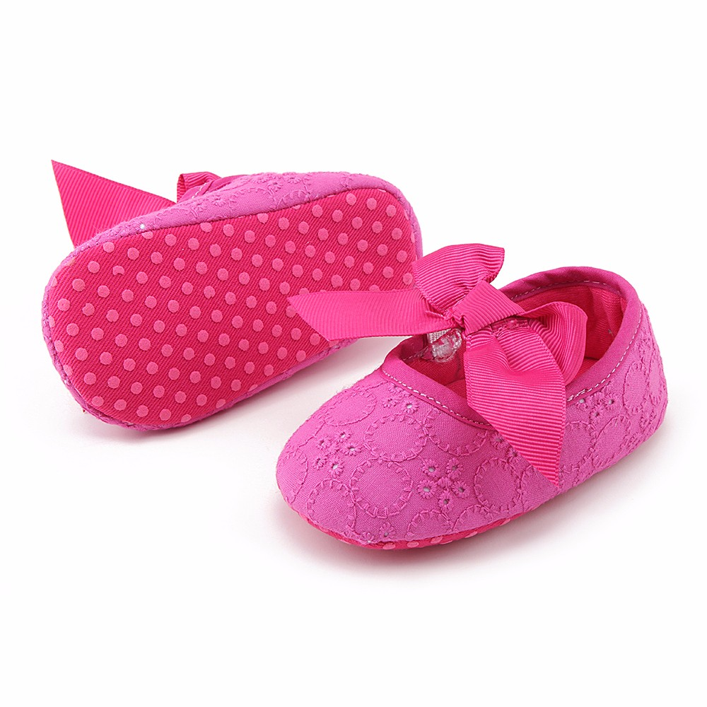 Spring Soft Sole Girl Baby Shoes Cotton First Walkers Fashion Baby Girl Shoes Butterfly-knot First Sole Kids Shoes