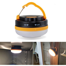 180 Lumens Portable Outdoor Camping Lantern Hiking Tent LED Light Campsite Hanging Lamp Emergency with Handle(China (Mainland))