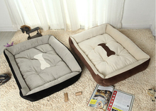 Plus Size Large Dog Bed Kennel Mat Soft Pet Dog Puppy Warm Bed House Plush Cozy Nest Dog House Pad Warm Pet House(China (Mainland))