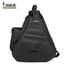 Free shipping free soldier Outdoor tactical side backpack freelander hiking travel bag hiking bag messenger bag