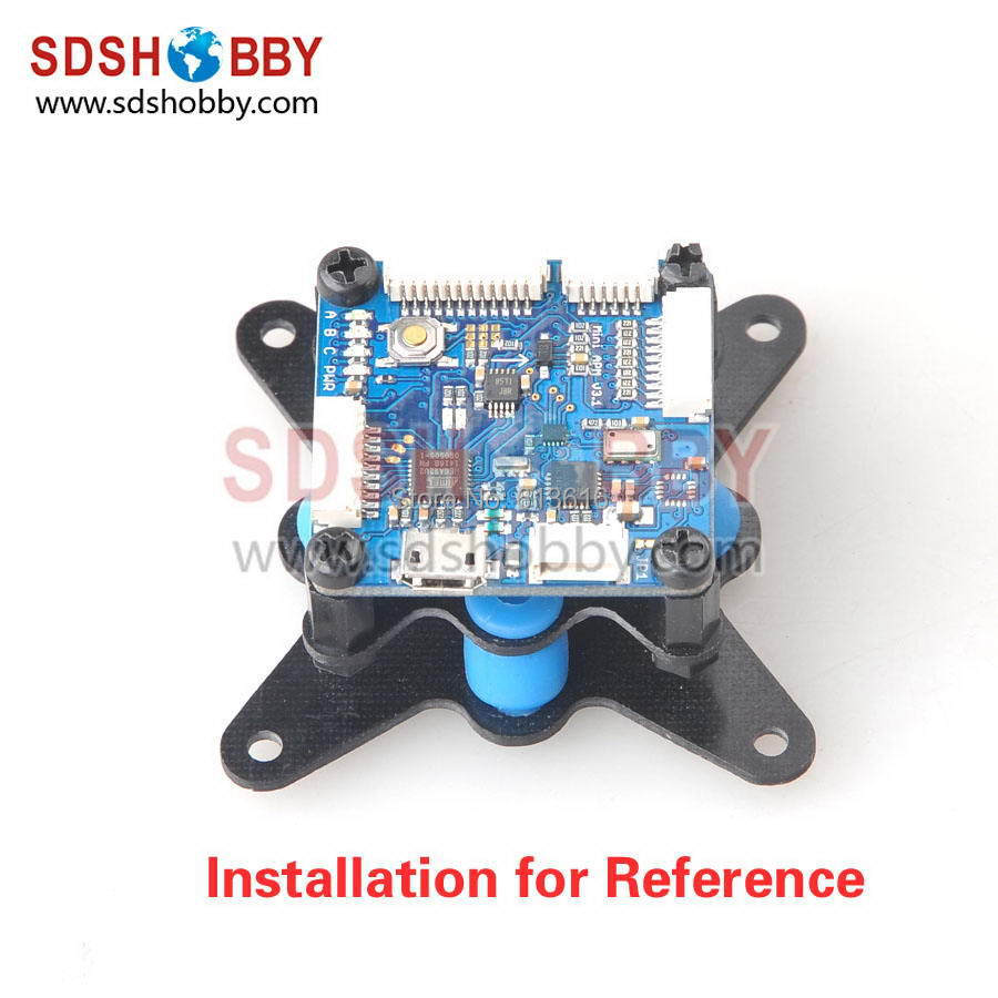 CC3D Flight Controller Universal Shock Absorber/Damping Plate/ Anti-vibration Plate Suitable for Mini APM<br><br>Aliexpress