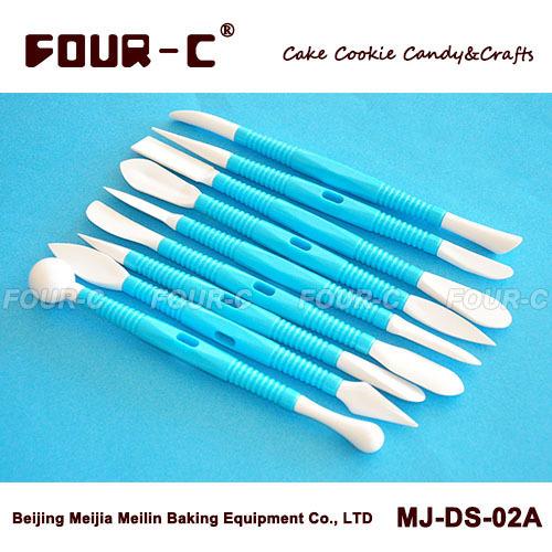9pcs cake decorating modeling tools,newest cake decorating supplies,cake DIY decoration tools free shipping(China (Mainland))