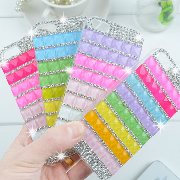 Luxury Rhinestone Case For Apple Iphone 5 5s 4 4s New Arrival Crystal Diamond Hard Back Skin Mobile phone Case Protective Shell(China (Mainland))