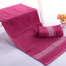 Free ShIpping 100% Cotton Face Towel  2015 Top Quality Quick-drying Hand Towels Soft and Comfort Towels for Adults(China (Mainland))