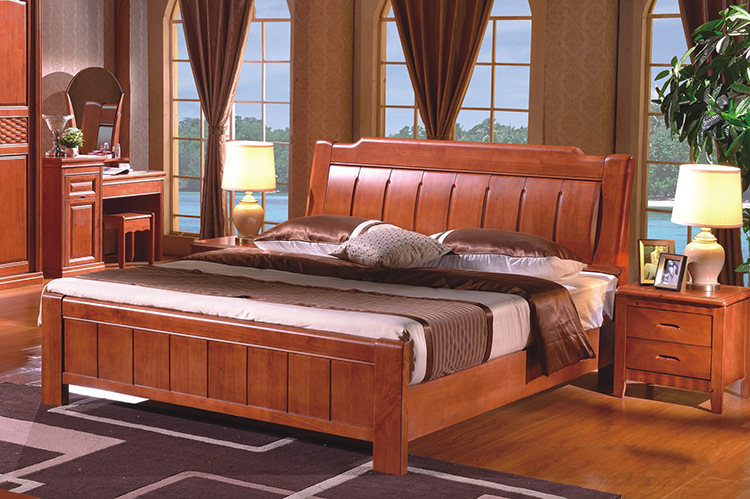 Wood Bed 1 8 m 1 5 m Wood Bed Modern Design Classical Chinese style. Stylish Wooden Bed Design   Home Design Ideas