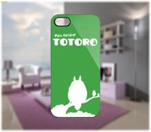 Totoro Vector Case Printed hard plastic mobile phone case cover for iphone 4 4s 5 5s 5c 6 6 plus cellphone shell