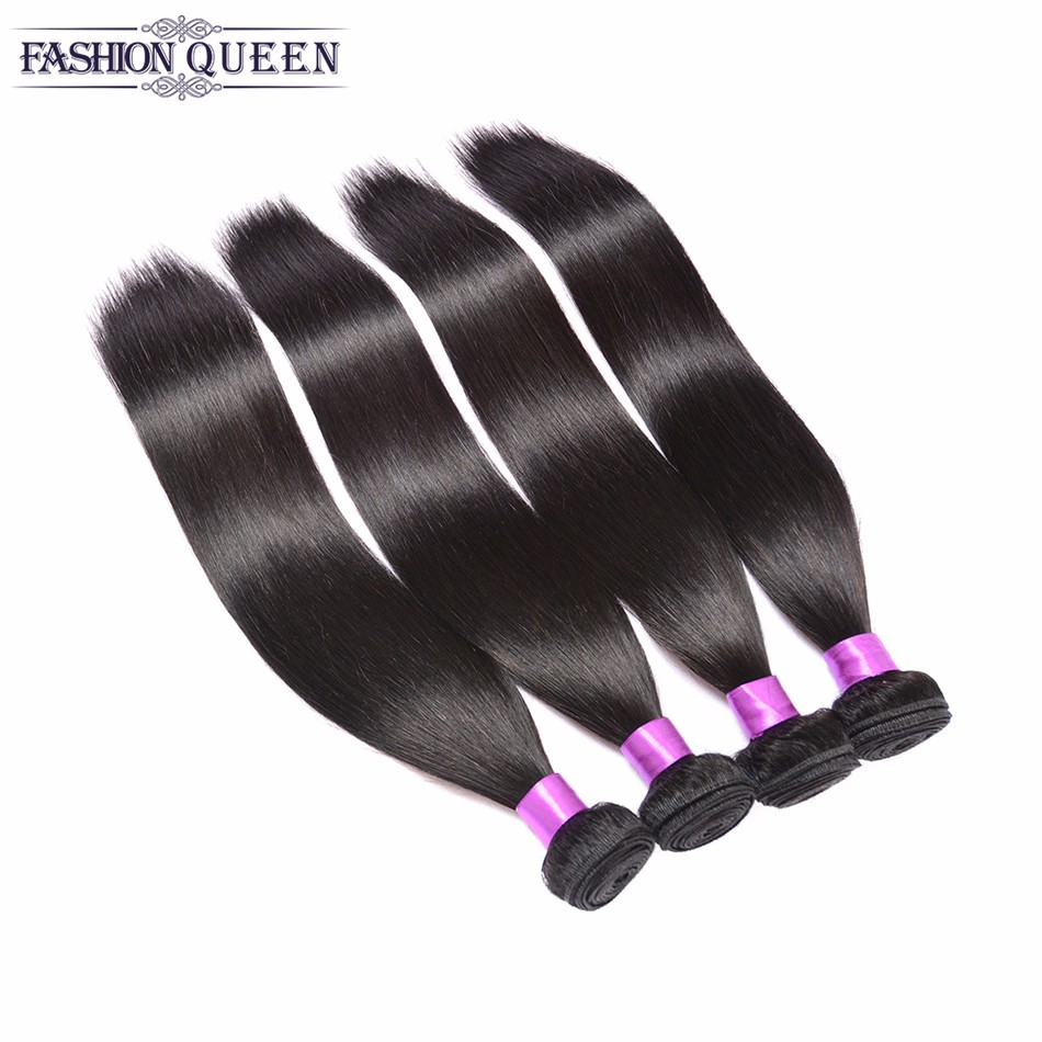 Brazilian Virgin Hair 4 Bundles Straight Human Hair Weave Brazilian Straight Hair Unprpcessed Brazilian Virgin Hair Straight