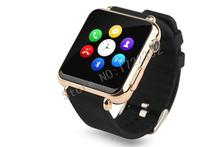 Free shipping 2015 New fashion Bluetooth Smart watch Y6 Support SIM SMS TF MP3 MP4 AVI for Xiaomi Huawei MEIZU LG Android 3Color
