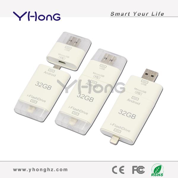 100% real capacity custom logo plastic mini short board 8GB16GB32GB64GB USB Flash Drive, pen drive memory stick for iPhone/iPad(China (Mainland))