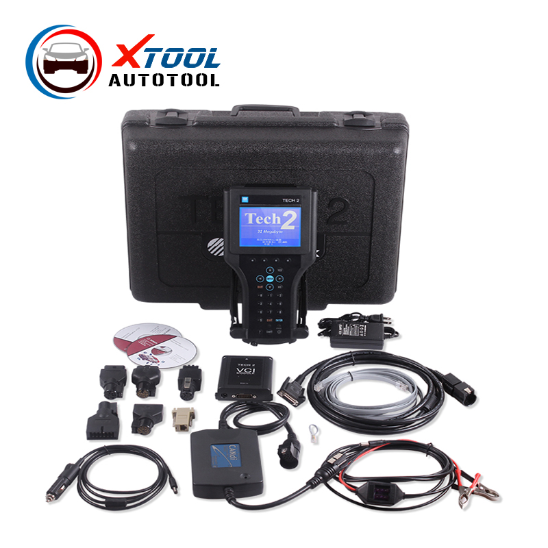 Best Quality GM TECH2 Full Set Support 6 Softwares(GM,OPEL,SAAB ISUZU,SUZUKI,HOLDEN) GM Tech 2 diagnostic tool DHL Free Ship(China (Mainland))