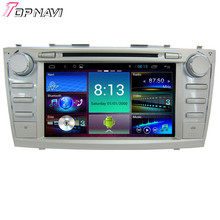 "8"" Quad Core Android 4.4.4 Car GPS For Toyota Camry-2011 With 16GB Flash Mirror Link Stereo Audio Radio DVD Map Free Shipping"
