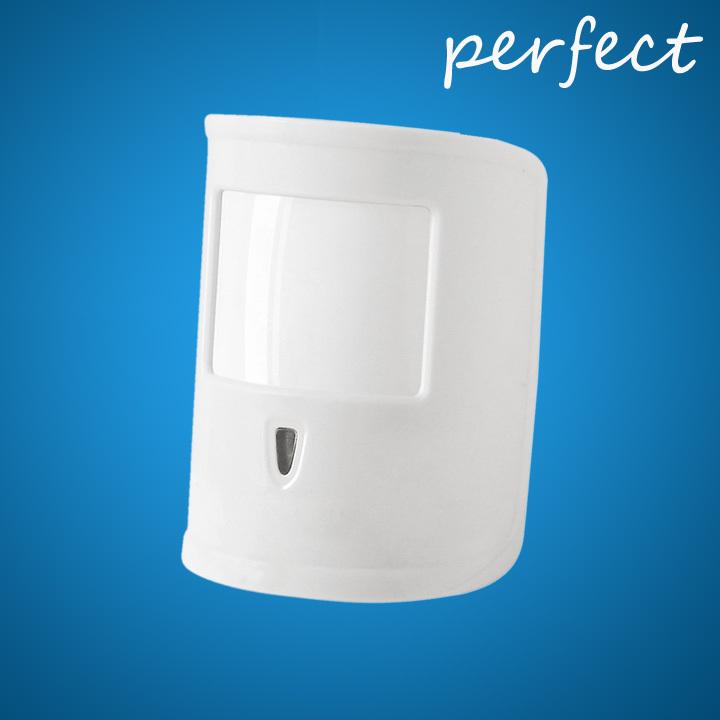 Free shipping Wireless Pet-friendly PIR infared Detector Pet Immune PIR Motion Sensor for home security alarm system 433mhz