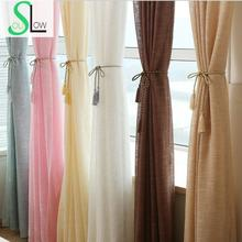[Slow Soul] New Hotel Decoration Window Thickened Yarn Cortinas Living Room Drapes Tulle-curtains Tulle Curtains Curtain Sheer(China (Mainland))