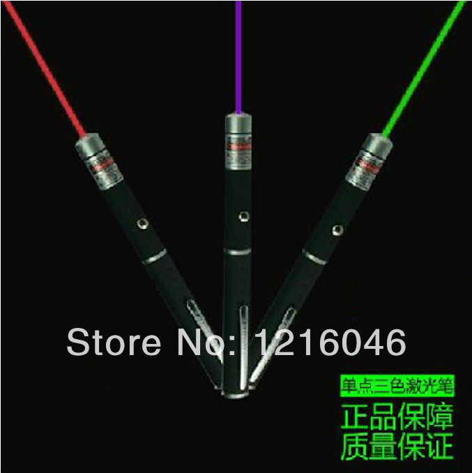 NEW!TOP sellingNEW!!!3PCS 50MW laser pointer 3Colors Laser Pen Presenter Laser Pointer Light Laser Beam Red/Green/Blue Purple(China (Mainland))
