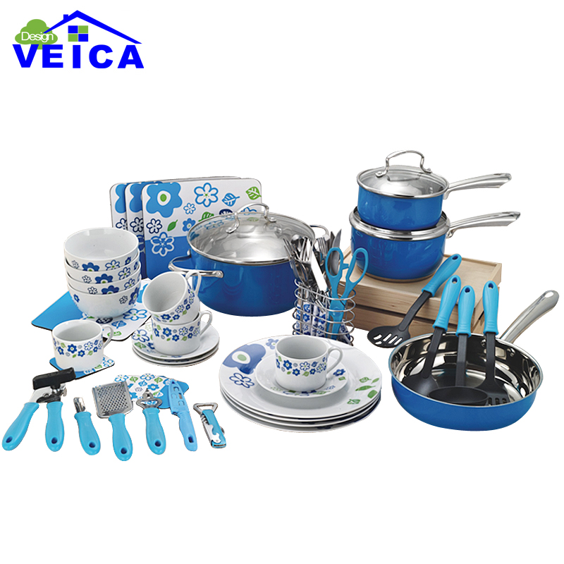 Stainless Steel Cookware Cooking Pots And Pans Set For Kitchen Usage Free Shipping In Cookware