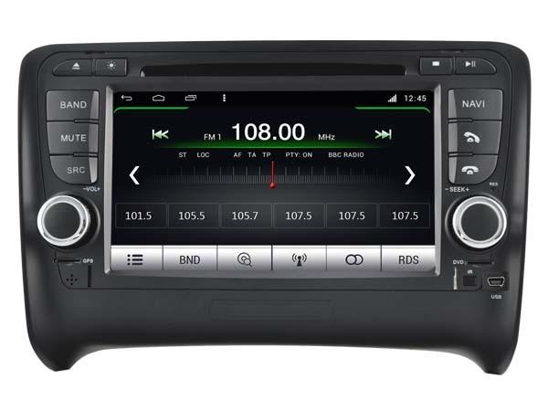 Купить S160 android-автомобильный 4.4.4 dvd-плеер для AUDI TT ( 2006 - 2014 ) автомобильная аудио стерео мультимедийная GPS четыре двух-жильный