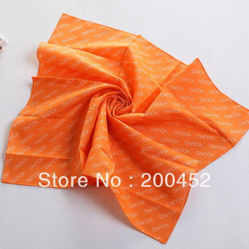Free shipping! Ladies' Fashion Avon print square small scarf shawl wrap(SL0325XFJA)(China (Mainland))