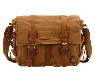 VEEVAN 2014 new canvas men messenger bag zipper and hasp leisure school children bag vintage tourism rucksack MBBSB00672(China (Mainland))