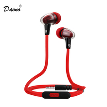 Original Stereo Headphones 3.5MM In-Ear Earphones Earbuds Bass Headset Handsfree With MIC for Samsung S6 Edge Xiaomi HTC(China (Mainland))