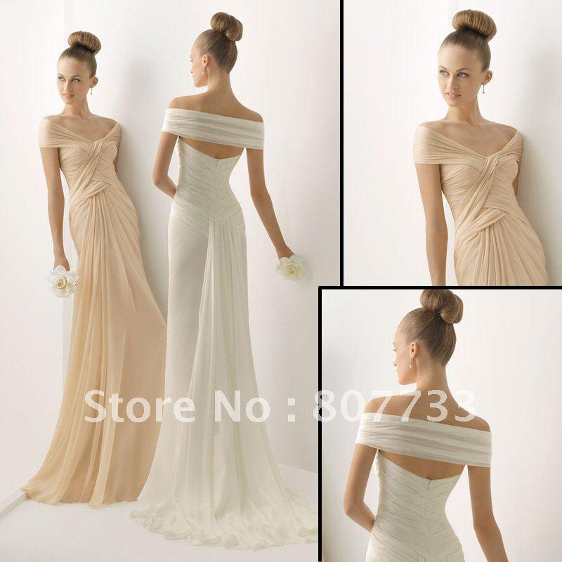 Jm bridals free shipping cost new j0080 off shoulder for Informal wedding dresses cheap