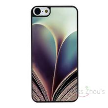 For iphone 4/4s 5/5s 5c SE 6/6s 7 plus ipod touch 4/5/6 back skins mobile cellphone cases cover Books Love Heart Shape Custom