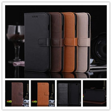 Genuine Leather Case for iPhone 6 iPhone6s plus apple 4.7 Card Holder Stand Design Wallet Flip Cover Business Mobile Phone Bag