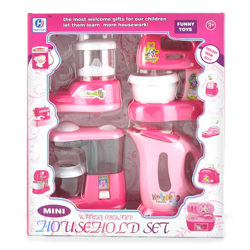 Machine Toys For Girls : Simulation toy electric kettle coffee machine mixer juicer