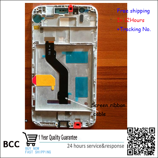 Test OK!White,Black or golden For Huawei maimang4 D199 LCD Display +Touch Screen Digitizer with frame 5.5'inch' Free shipping