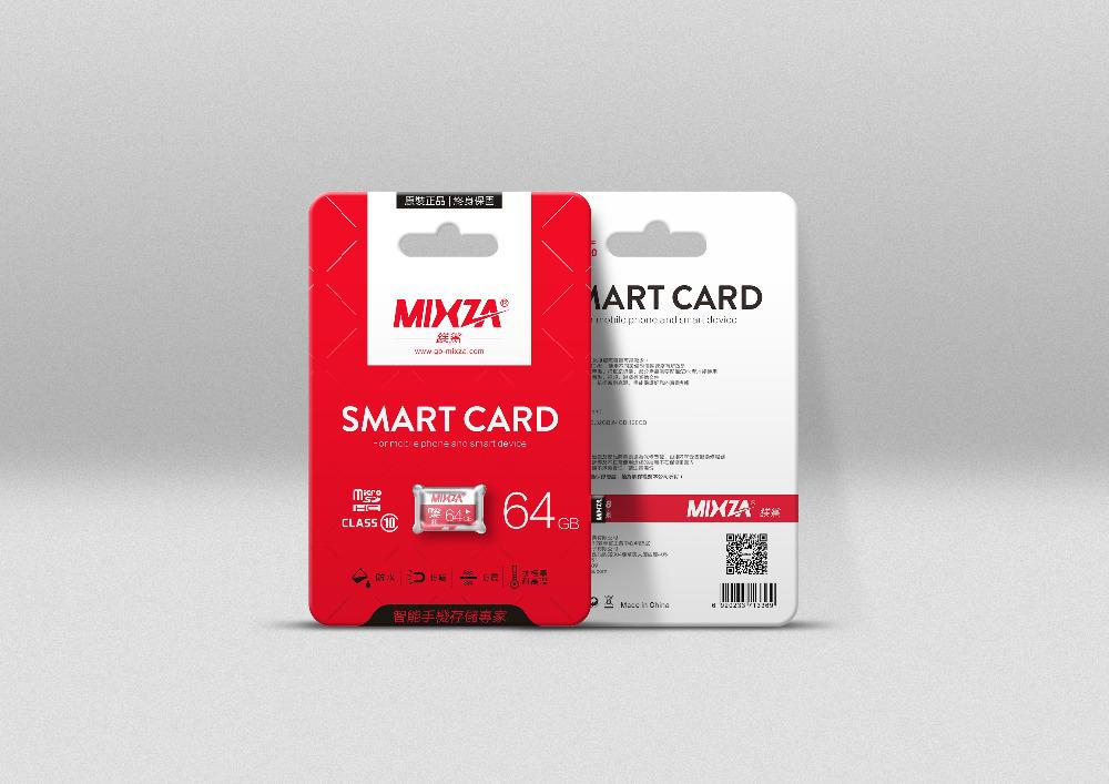MIXZA diamond series 64GB 128GB micro sd card class10 flash card memory card for Phone/Tablet/Camera(China (Mainland))