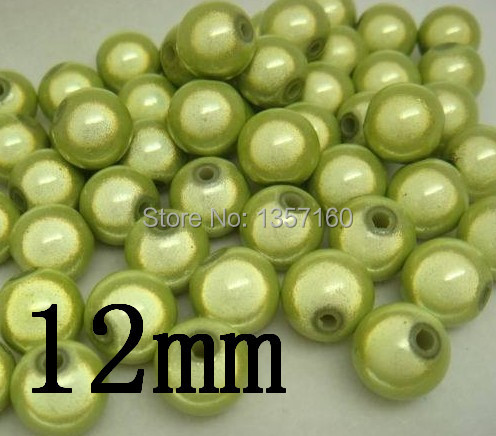 well selling christmas acrylic miracle beads 12mm so cutely round shape miracle beads red green chunky miracle beads in beads(China (Mainland))
