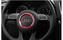 fit Audi A3 A4 A5 A6 A7 A8 Q3 Q5 Q7 S3 S4 S5 S6 S7 S8 Car Styling Circle Cover Trim 2015 New Design Wheel Decoration - Guangzhou nanyi International trade Co., Ltd. store