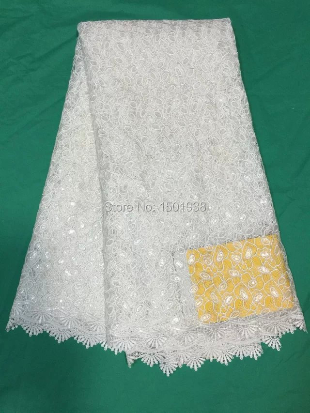 Shipping 5yd / lot African French lace fabric. African Cape High quality traditional Nigerian wedding dress lace