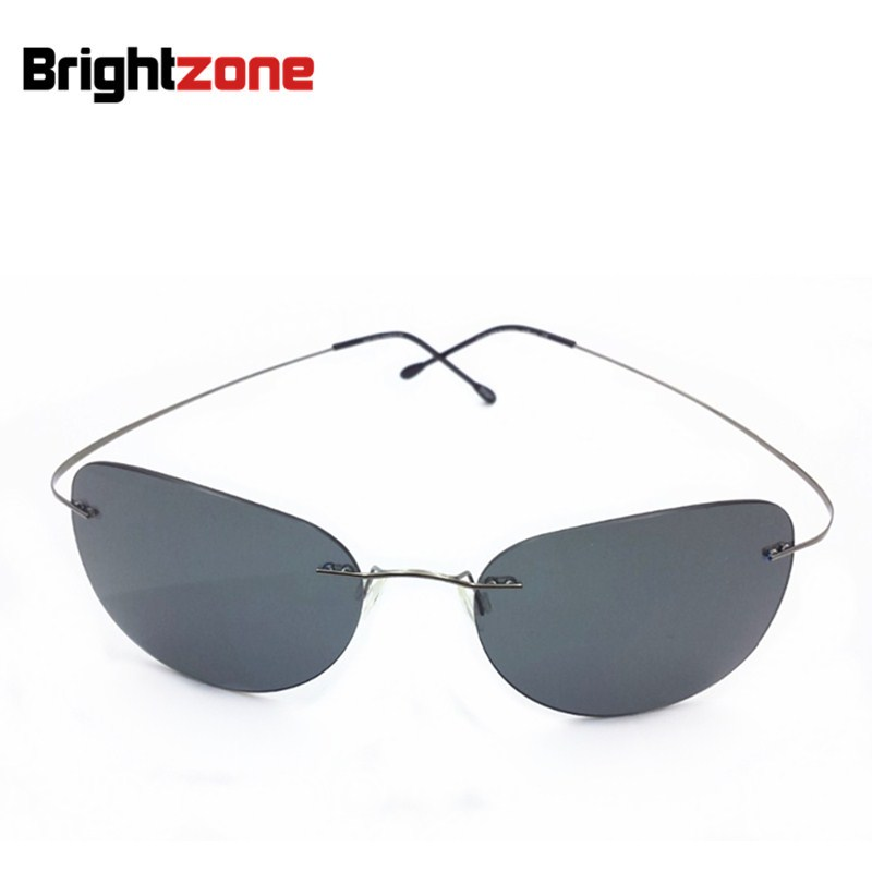 Rimless Glasses At Vision Express : 2017 New Ultra light Rimless Sunglasses Memory Pure ...