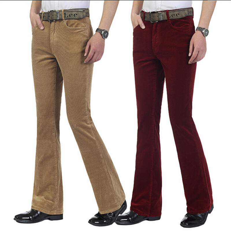 Denim remains the fabric of choice for men's flares – bell-bottom jeans are a retro must-have. Here at Atom Retro you'll find denim flares in an array of retro colours as well as striped, paisley and corduroy bellbottoms. For that authentic 70s vibe we recommend Madcap England men's flares and bellbottom jeans.