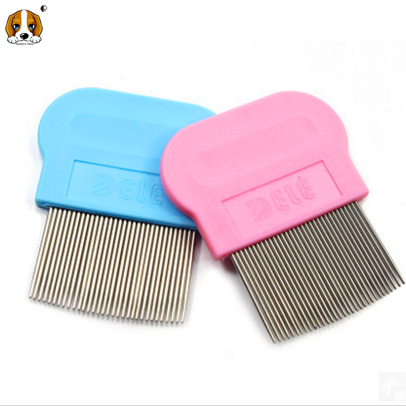 Pet dog and cat Flea Comb Tick Remover Dog Hair Grooming Shedding Brush Dog Grooming Tools HP630(China (Mainland))