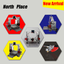 Direct sale good in stock and acrylic DIY 3d Printer with 2 Roll Filament 4GB SD card and LCD