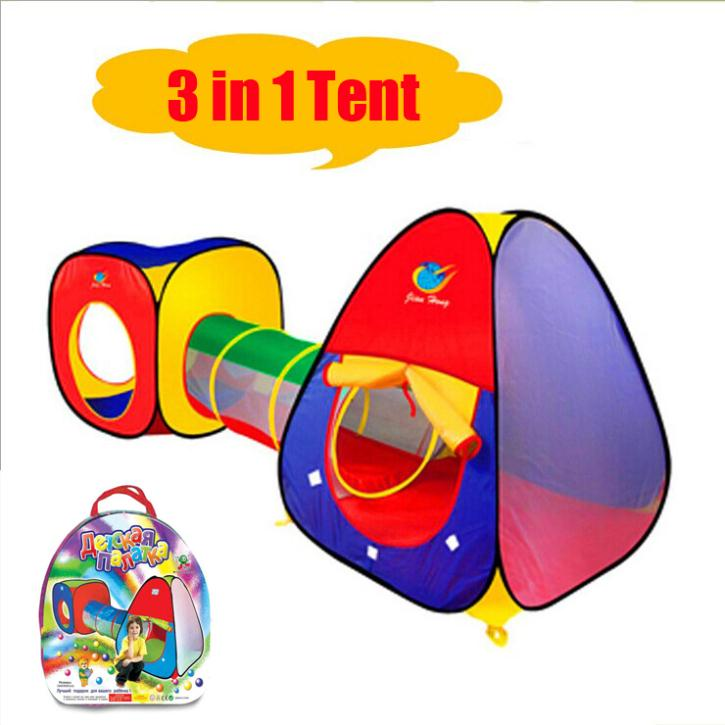 Brand New Children's tent/game house outdoor fun & sports kids tent play house kid's sleeping Pop Up toy tent Drop Shipping()