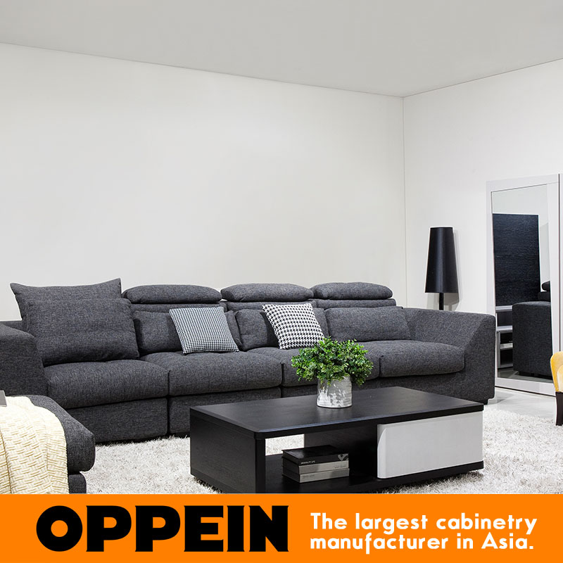 Modern Dark Color Sectional Fabric Couch Living room corner sofa furniture WS-TM160006(China (Mainland))