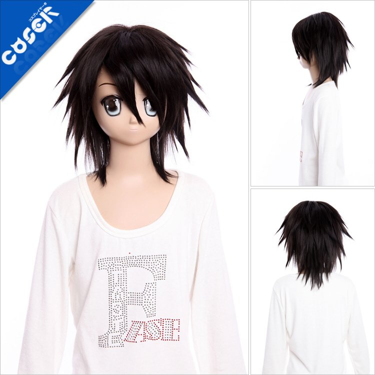 Death Note L Cosplay Wig  L Death Note Cosplay Wig