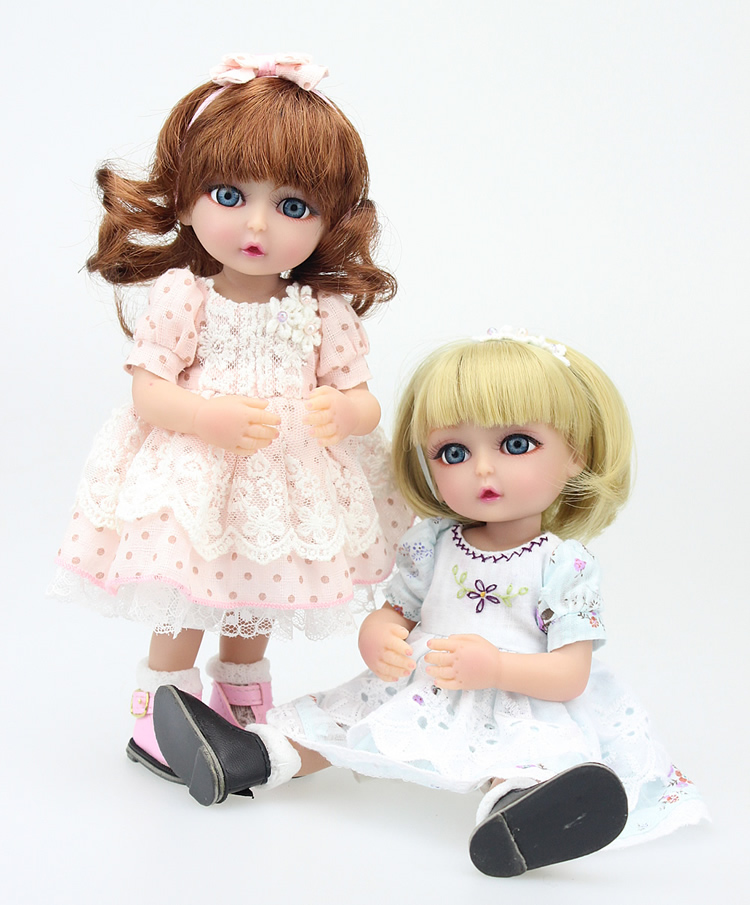 Hot-selling gum artificial doll birthday gift baby reborn small home doll decoration 25CM<br><br>Aliexpress