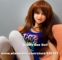NEW Top quality 110cm silicone sex doll vagina real pussy, oral japanese real love doll, anal real life sex dolls,sex products
