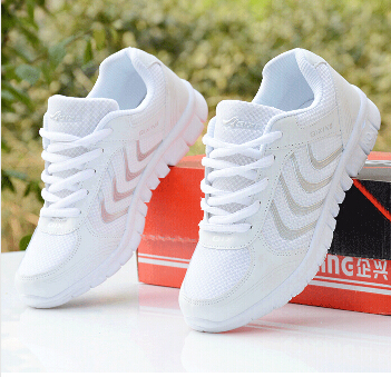 2015 Hot Sale Fashion Summer Shoes Woman Flat Sport Running Shoes Breathable Women's Platform Sneakers Sapatos Femininos 35-41(China (Mainland))