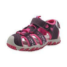 Apakowa חדש בנות ספורט חוף סנדלי מגזרת קיץ ילדי נעלי סגור הבוהן בנות סנדלי ילדי נעלי האיחוד האירופי 21 -32(China)