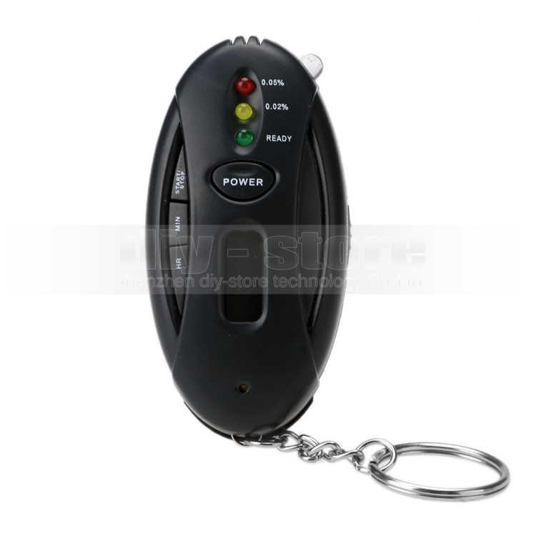 Hot Fashion Mini Portable LED Digital Alcohol Breath Tester Analyzer Breathalyzer(China (Mainland))