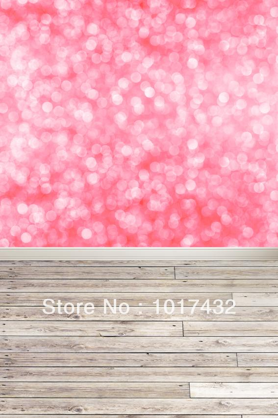 Custom size pink glitter bokeh bright sparkle for Cheap glitter wallpaper
