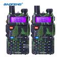 2pcs BaoFeng UV 5R Portable Radio VHF UHF Long Range Two Way Radio Earpiece CB Walkie