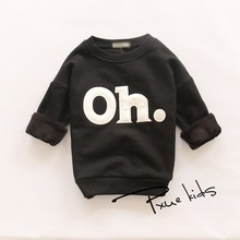 Autumn Winter boys&girls hoody outdoors jacket letter sweatshirts hoodies kids hoodie fleece pullovers children tracksuits(China (Mainland))